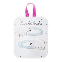 Hiuskoru/pinni, Rockahula KIDS|Polar Bear Glitter Clips