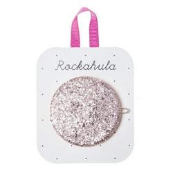 Hiuskoru/pinni, Rockahula KIDS|Glitter Moon Disc Clip Pink