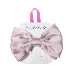 Hiuskoru/solki, Rockahula KIDS|Satin Luxe Double Bow Clip Pink