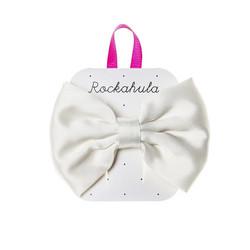 Hiuskoru/solki, Rockahula KIDS|Satin Luxe Double Bow Clip Ivory