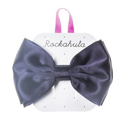 Hiuskoru/solki, Rockahula KIDS|Satin Luxe Double Bow Clip Blue