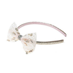 Hiuspanta, Rockahula KIDS|Sequin Shaker Bow Alice Band Gold