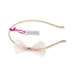 Hiuspanta, Rockahula KIDS|Glitter Mesh Bow Alice Band Pink