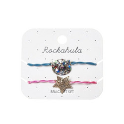 Lasten rannekorusetti, Rockahula KIDS|Glitter Cat Bracelet Set