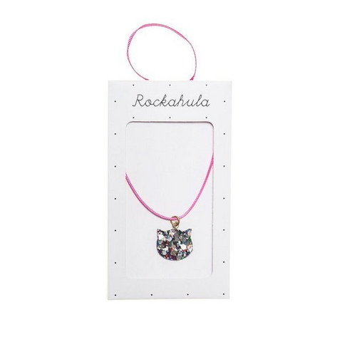 Lasten kaulakoru, Rockahula KIDS|Glitter Cat Necklace