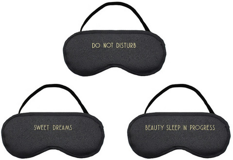 Unimaski, Eye Mask (black)