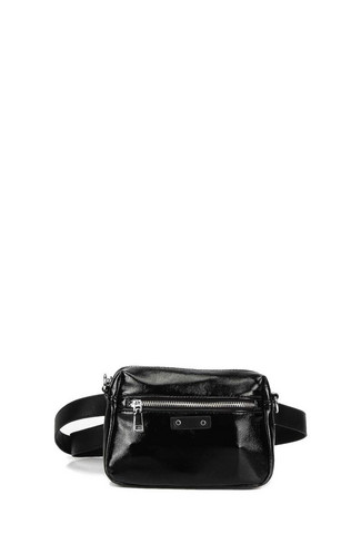 Laukku/vyölaukku, BESTINI| 2 in 1 Black Handbag (musta käsilaukku)