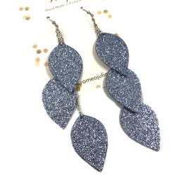 LEMPI-korvakorut, Lehdet (talvensini glitter)