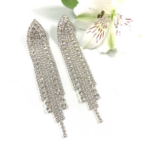Strassikorvakorut, Long Strass Earring