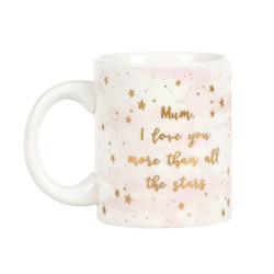 Muki, Scattered Stars -Mum Love You Mug (muki äidille)