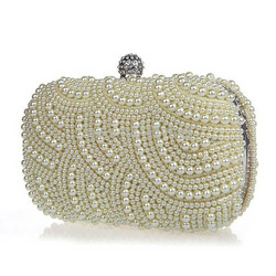 Iltalaukku,  Athena Bridal Jewelry|Beautiful Eveningbag with Pearls