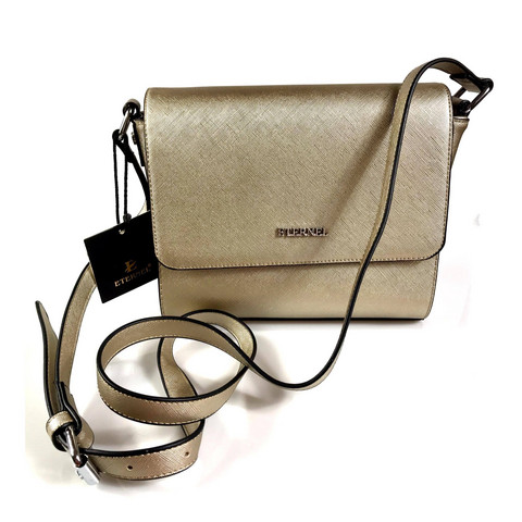 Laukku, ETERNEL|Simple Handbag in Gold