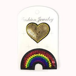 Hihamerkki, Rainbow  & Heart (sateenkaari ja sydän)