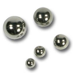 Lävistyskorun irtopallo, Basic Steel 1,6mm/useita eri halkaisijoita