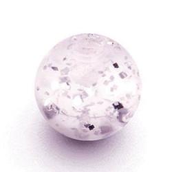 Lävistyskorun irtopallo, Light Lavender Glitter 1,6mm/useita eri kokoja