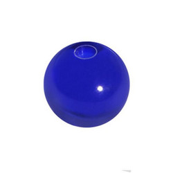 Lävistyskorun irtopallo, Dark Blue Acryl 1,6mm/useita eri kokoja