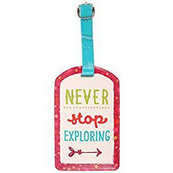 Laukku-tagi, Never Stop Exploring
