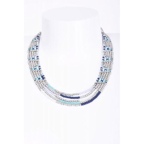 Kaulakoru/ATOLL-PALME,  Trianglette Beads Collar