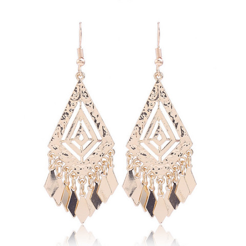 Korvakorut, Gold Bohemian Earrings