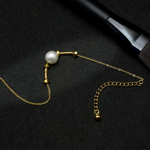 Nilkkakoru|HOLIDAY COLLECTION/Classic Gold Anklet with Pearl Decoration