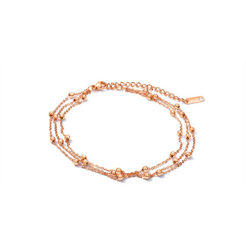 Nilkkakoru|HOLIDAY COLLECTION/Classic Rosegold Anklet