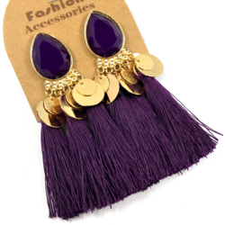 Korvakorut, Tassels in Dark Purple