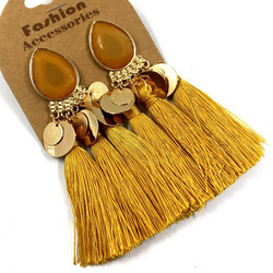 Korvakorut, Tassels in Dark Yellow