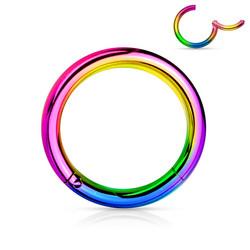 Lävistysrengas, Hinged Segment Ring in AB 0,8mm/useita halkaisijoita