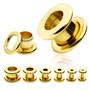 Tunneli 12mm, Basic Gold