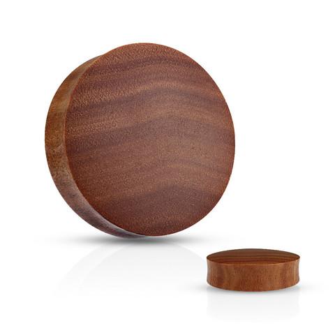 Plugi 16mm, Organic Saba Wood  (puinen plugi)