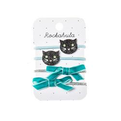 Hiuskoru/pompula, Rockahula KIDS|Sparkly Cat Ponies Black