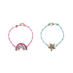 Lasten rannekorusetti, Rockahula KIDS|Rainbow Star Bracelet Set