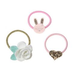Hiuskoru/pompula, Rockahula KIDS|Sweet Bunny Set of Ponies