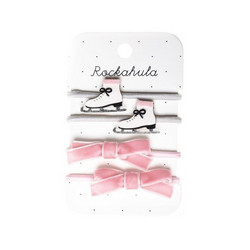 Hiuskoru/pompula, Rockahula KIDS|Ice Skate Glitter Ponies