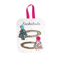 Hiuskoru/pinni, Rockahula KIDS|Rainbow Xmas Tree Clips