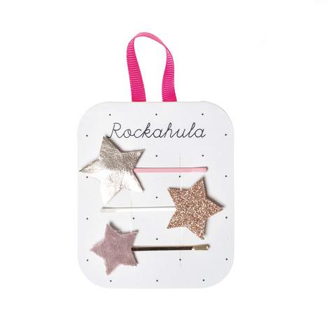 Hiuskoru/pinni, Rockahula KIDS Star Gazer Slides Gold