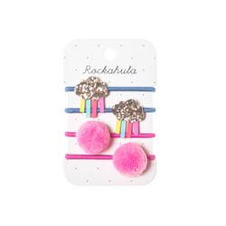 Hiuskoru/pompula, Rockahula KIDS|Rainy Cloud Glitter Ponies
