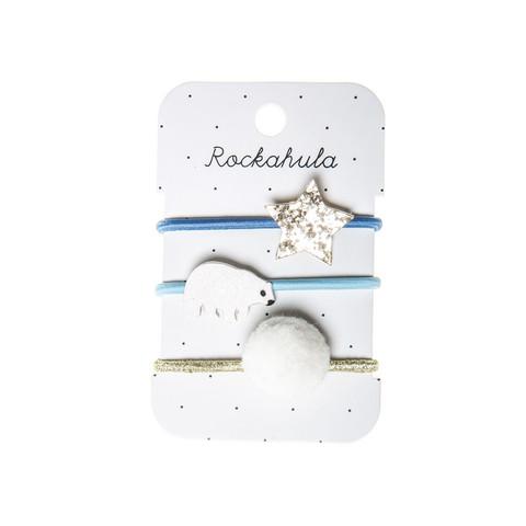 Hiuskoru/pompula, Rockahula KIDS|Polar Bear Glitter Ponies