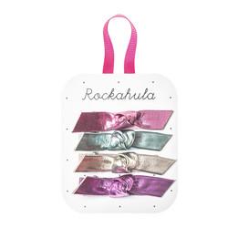 Hiuskoru/pinni, Rockahula KIDS|Jazzy Knotted Clips Rainbow