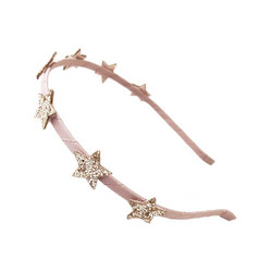 Hiuspanta, Rockahula KIDS|Bedazzle Glitter Star Head Band Pink