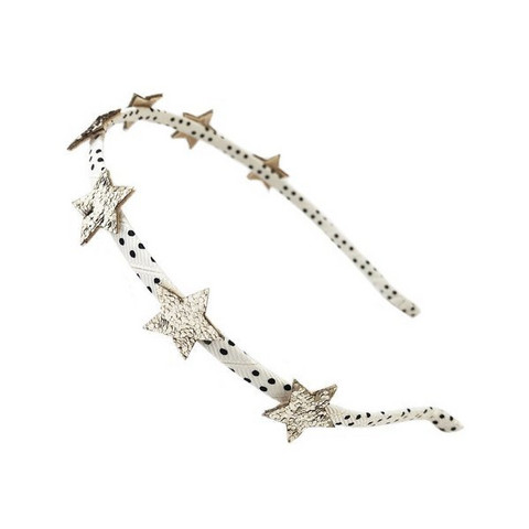 Hiuspanta, Rockahula KIDS|Bedazzle Glitter Star Head Band Gold