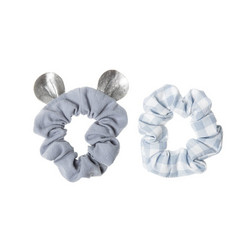 Hiuskoru/pompula, Rockahula KIDS|Little Mouse Scrunchie Set Blue