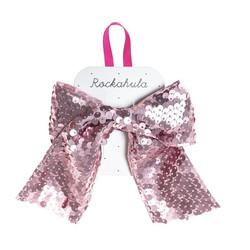 Hiuskoru/solki, Rockahula KIDS|Super Sequins Bow Clip Pink