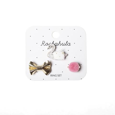 Lasten sormussetti, Rockahula KIDS Sophia Swan Ring Set