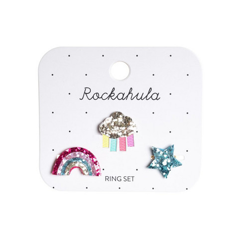 Lasten sormussetti, Rockahula KIDS|Rainy Cloud Ring Set