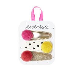 Hiuskoru/pinni, Rockahula KIDS|Pandora Pom Pom Clips Multi