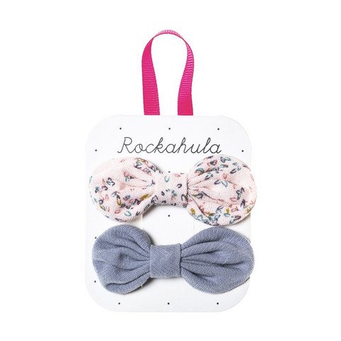 Hiuskoru/pinni, Rockahula KIDS|Flora Tied Bow Set Pink
