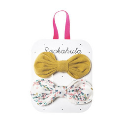 Hiuskoru/pinni, Rockahula KIDS|Flora Tied Bow Set White