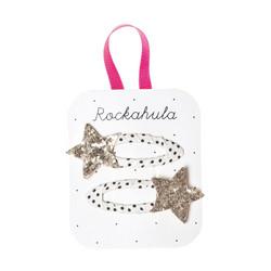 Hiuskoru/pinni, Rockahula KIDS|Bedazzle Glitter Star Clips Gold