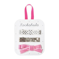 Hiuskoru/pinni, Rockahula KIDS|Sparkle Bar Clips Gold